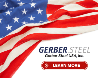 Advertisement: Gerber Steel USA, Inc.