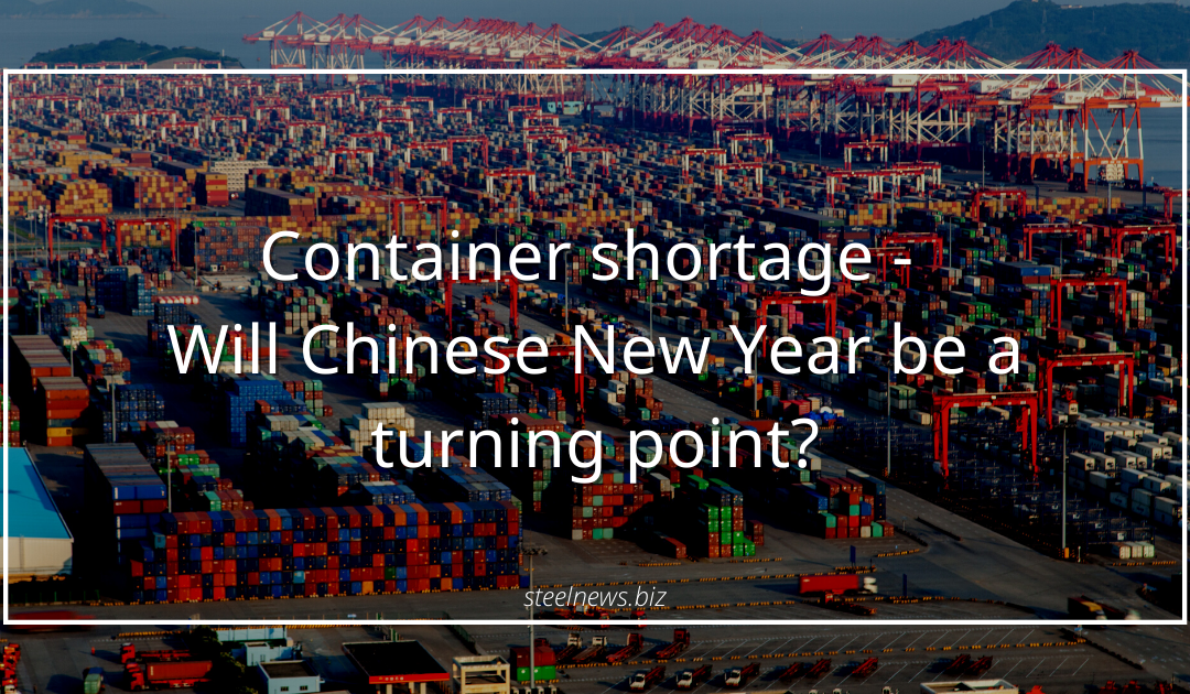 Container shortage – Will Chinese New Year be a turning point?