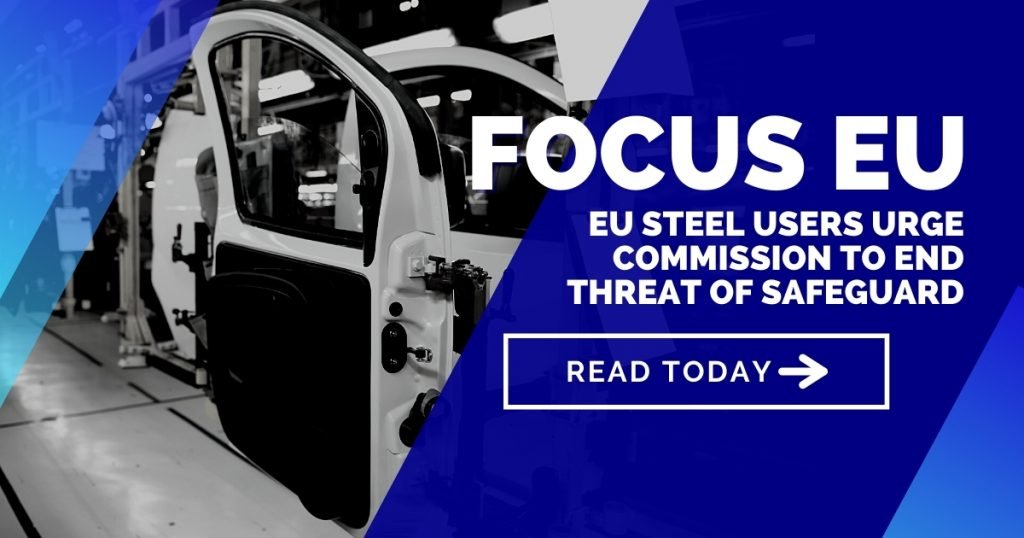 European steel users urge EU Commission to end threat of safeguard measures