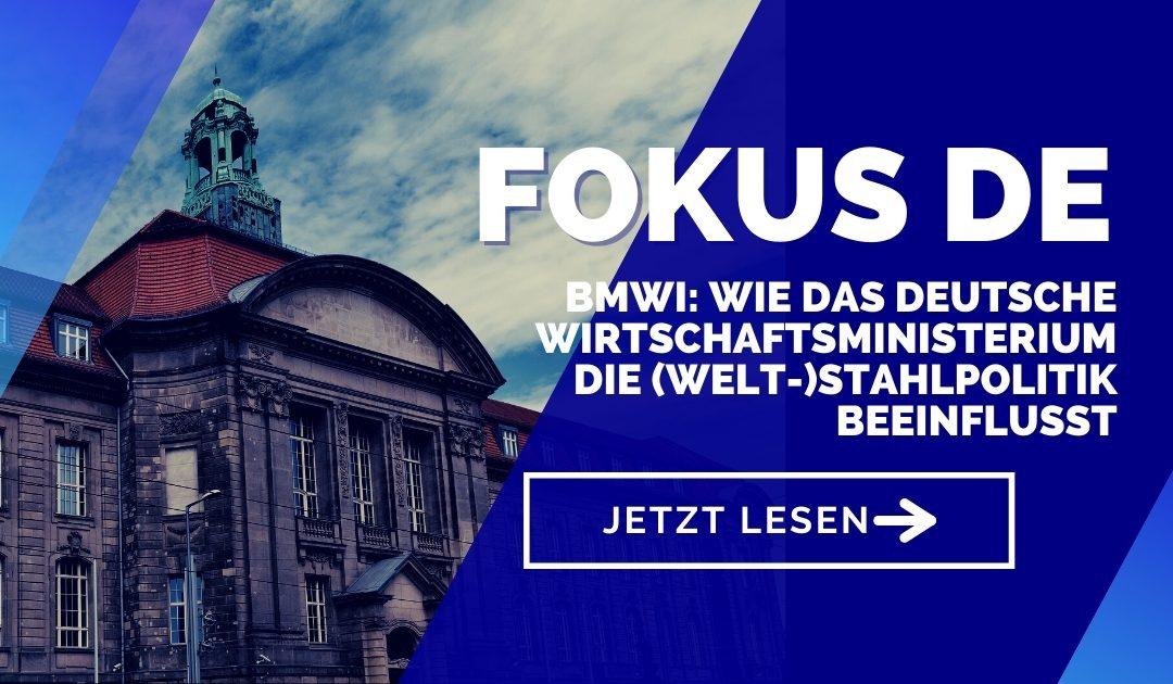 BMWi: Wie das deutsche Bundeswirtschaftsministerium die (Welt-)Stahlpolitik beeinflusst