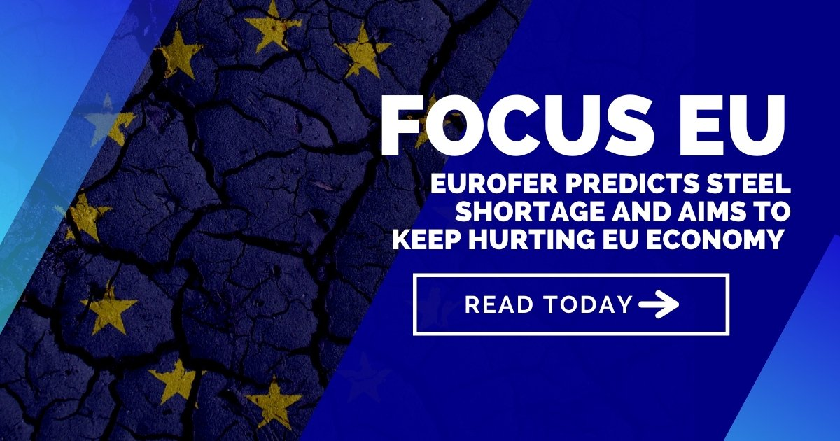 EUROFER predicts steel shortage and aims to keep hurting EU economy