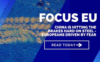 China is hitting the brakes hard on steel – Europeans driven by fear