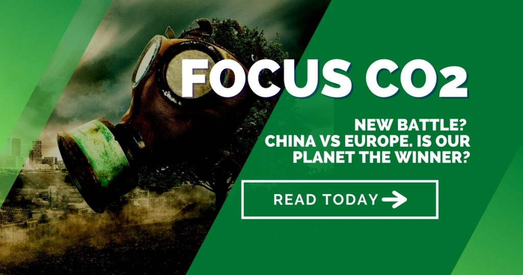 New battle? China versus Europe. Is our planet the winner?