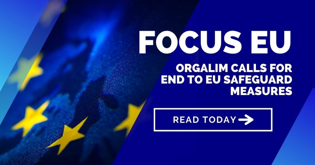Orgalim calls for end to EU Safeguard measures