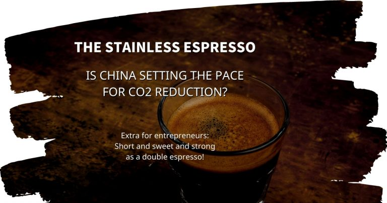 Stainless Espresso: Is China setting the pace for CO2 reduction?