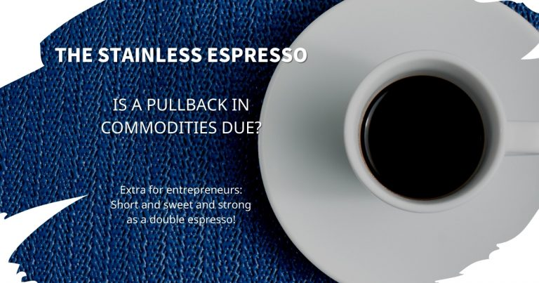 Stainless Espresso: Is a pullback in commodities due?