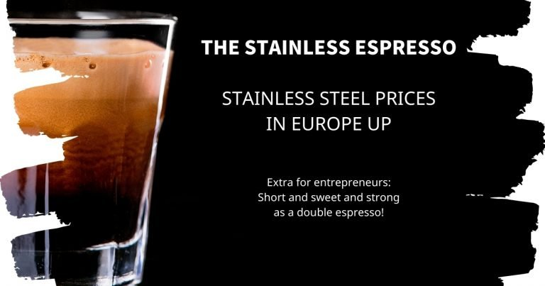 Stainless Espresso: Stainless steel prices in Europe up