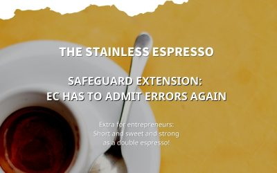 Stainless Espresso: EC again admits errors in Safeguard extension