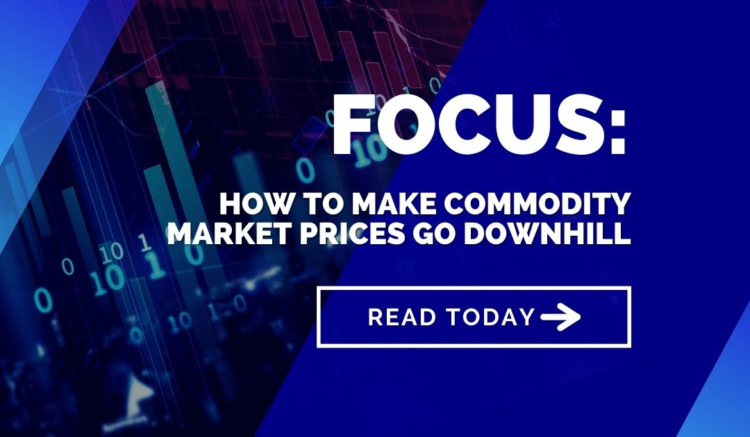 The fear game: How to make commodity market prices go downhill