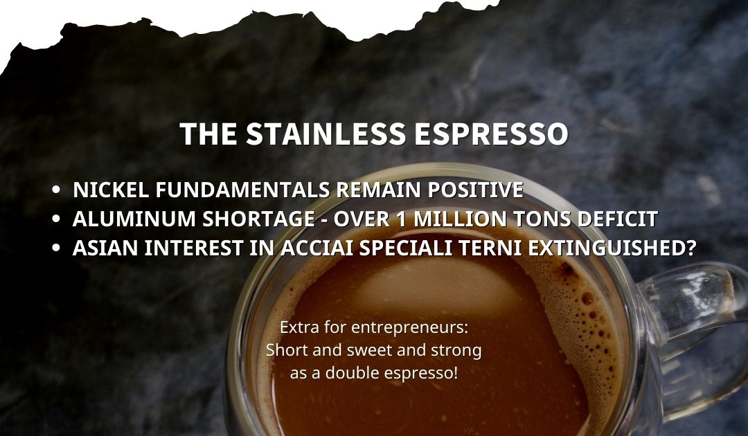 Stainless Espresso: Nickel fundamentals remain positive