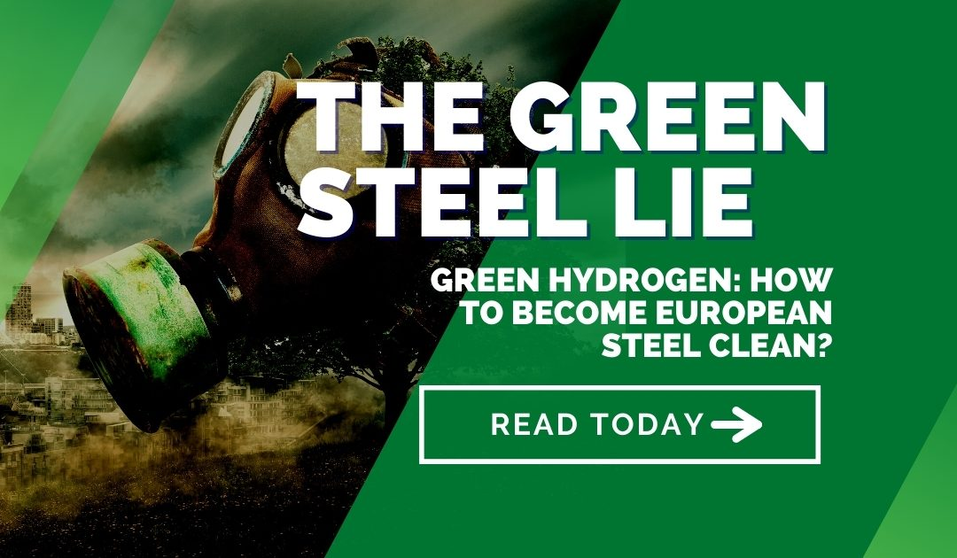 Green hydrogen: How to become European steel clean? – The Green Steel Lie Part 2
