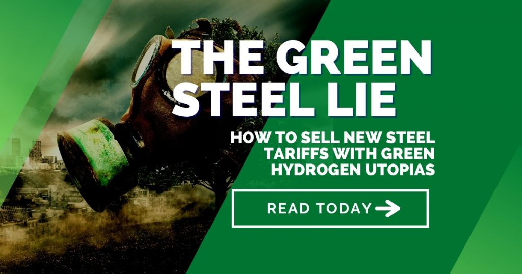 CBAM: How to sell new steel tariffs with green hydrogen utopias - The Green Steel Lie Part 1
